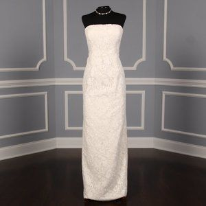 Oscar de la Renta Gemma 88N16 Wedding Dress Sz 10